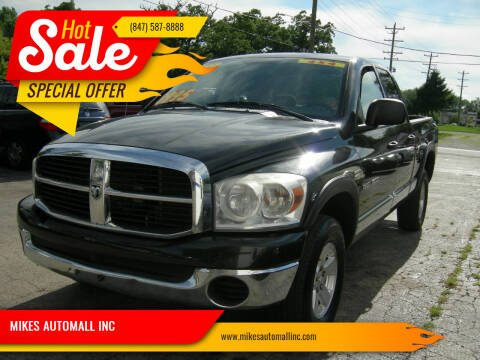 2007 Dodge Ram Pickup 1500 for sale at MIKES AUTOMALL INC in Ingleside IL