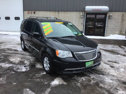 2012 Chrysler Town and Country for sale at Adams Street Motor Company LLC in Dorchester MA