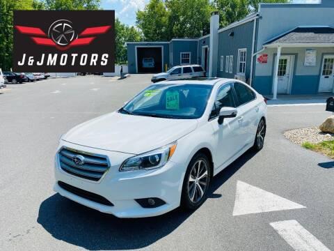 2016 Subaru Legacy for sale at J & J MOTORS in New Milford CT