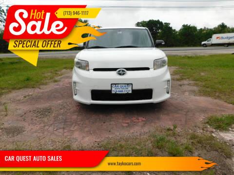 2014 Scion xB for sale at CAR QUEST AUTO SALES in Houston TX