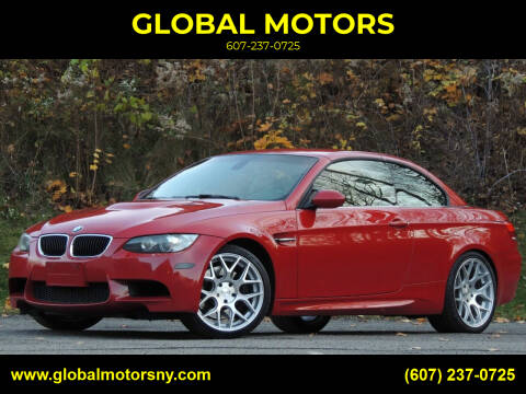 2010 BMW M3 for sale at GLOBAL MOTORS in Binghamton NY