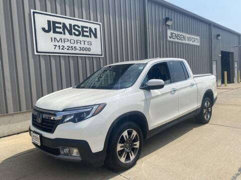 2019 Honda Ridgeline for sale at Jensen's Dealerships in Sioux City IA