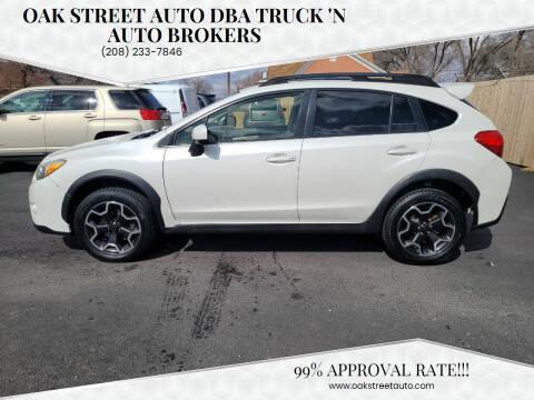 2013 Subaru XV Crosstrek for sale at Oak Street Auto DBA Truck 'N Auto Brokers in Pocatello ID