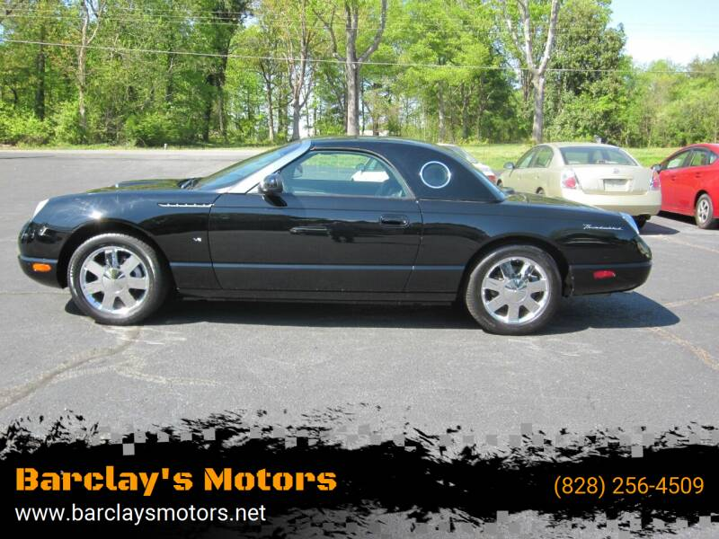 2002 Ford Thunderbird for sale at Barclay's Motors in Conover NC