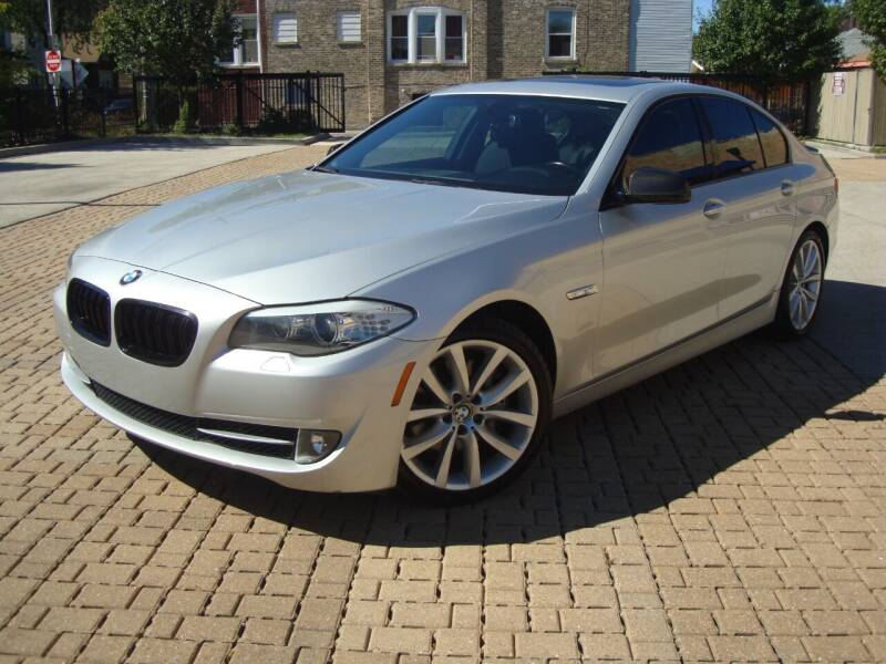2011 BMW 5 Series for sale at Tempo Auto of Chicago in Chicago IL