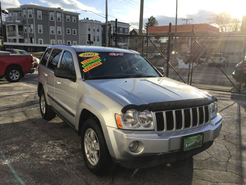 2007 Jeep Grand Cherokee for sale at Adams Street Motor Company LLC in Dorchester MA