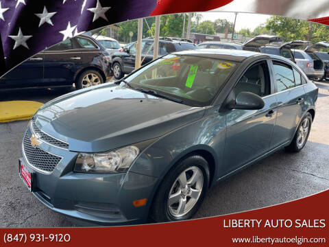 2012 Chevrolet Cruze for sale at Liberty Auto Sales in Elgin IL