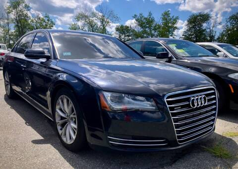 2012 Audi A8 L for sale at Top Line Import of Methuen in Methuen MA