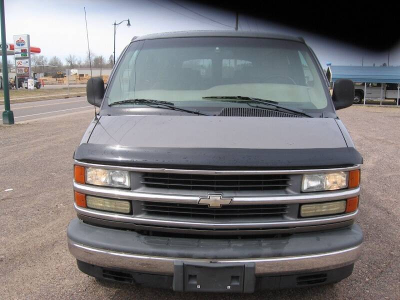 2002 Chevrolet Express Cargo for sale at SCHUMACHER AUTO SALES & SERVICE in Park Falls WI