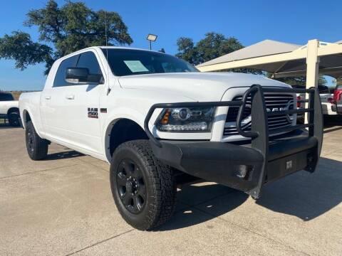 2018 RAM Ram Pickup 2500 for sale at Thornhill Motor Company in Hudson Oaks, TX