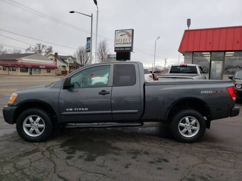 2010 Nissan Titan for sale at Select Auto Group in Wyoming MI