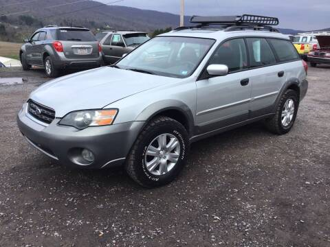 2005 Subaru Outback for sale at Troys Auto Sales in Dornsife PA