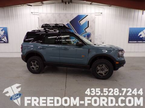 2021 Ford Bronco Sport for sale at Freedom Ford Inc in Gunnison UT