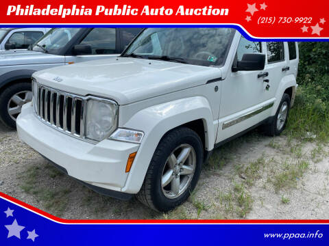 2008 Jeep Liberty for sale at Philadelphia Public Auto Auction in Philadelphia PA