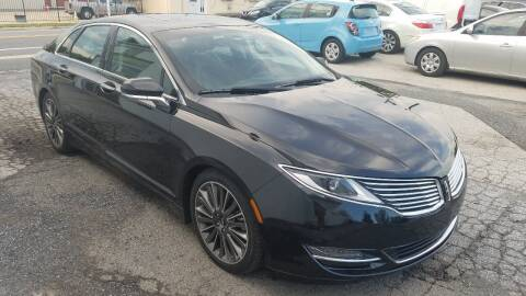2015 Lincoln MKZ for sale at WEELZ in New Castle DE