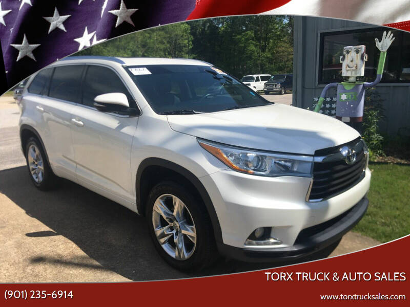 2014 Toyota Highlander for sale at Torx Truck & Auto Sales in Eads TN
