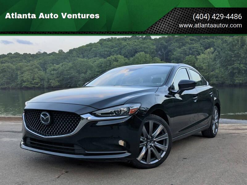 2020 Mazda MAZDA6 for sale at Atlanta Auto Ventures in Roswell GA
