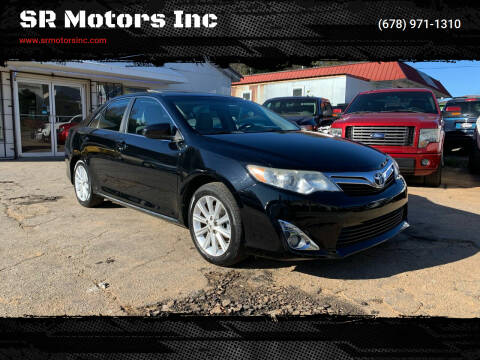 2012 Toyota Camry for sale at SR Motors Inc in Gainesville GA
