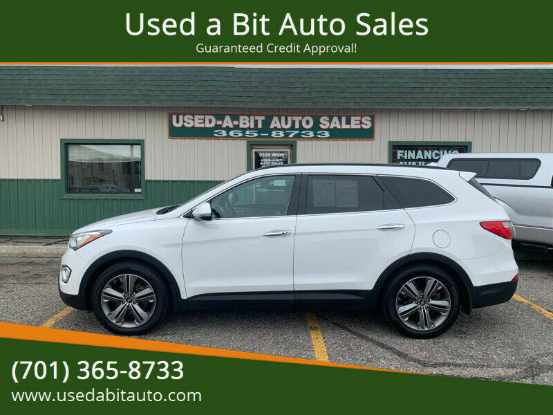 2014 Hyundai Santa Fe for sale at Used a Bit Auto Sales in Fargo ND