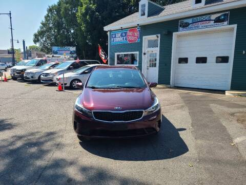 2018 Kia Forte for sale at Bridge Auto Group Corp in Salem MA