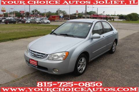 2004 Kia Spectra for sale at Your Choice Autos - Joliet in Joliet IL