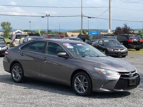 2017 Toyota Camry for sale at Broadway Motor Car Inc. in Rensselaer NY