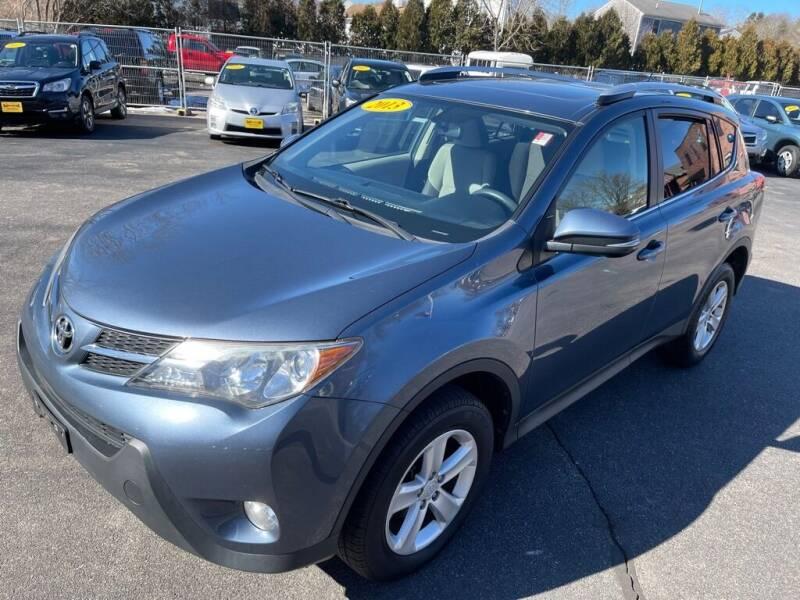 2013 Toyota RAV4 for sale at KINGSTON AUTO SALES in Wakefield RI