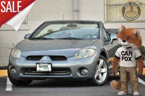 2007 Mitsubishi Eclipse Spyder for sale at JDM Auto in Fredericksburg VA