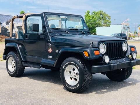 1999 Jeep Wrangler for sale at Supreme Auto Sales in Chesapeake VA