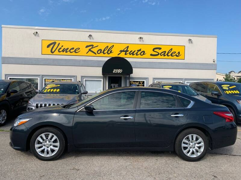 2016 Nissan Altima for sale at Vince Kolb Auto Sales in Lake Ozark MO