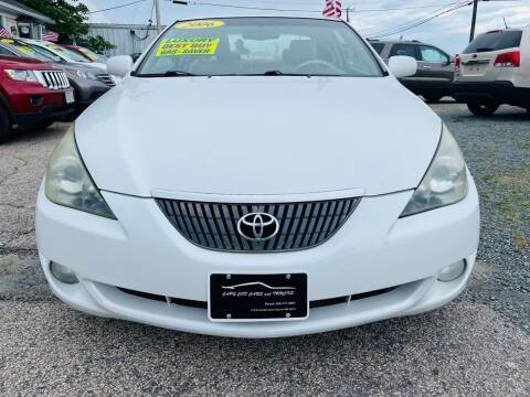 2006 Toyota Camry Solara for sale at Cape Cod Cars & Trucks in Hyannis MA
