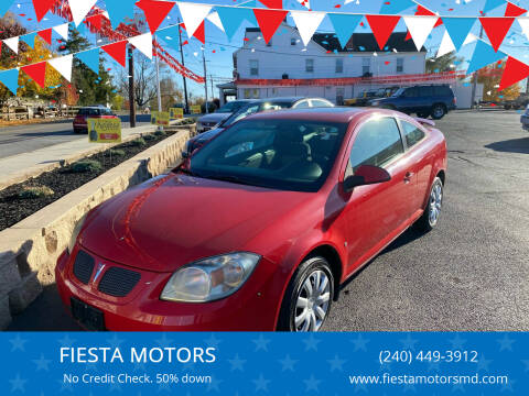 2007 Pontiac G5 for sale at FIESTA MOTORS in Hagerstown MD