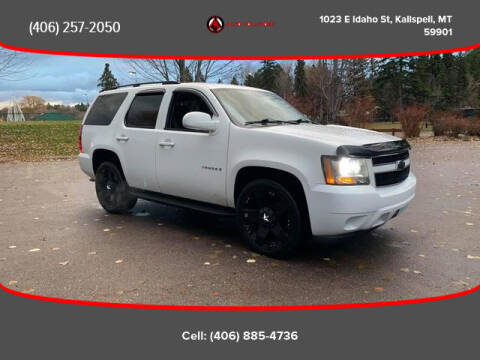 2008 Chevrolet Tahoe for sale at Auto Solutions in Kalispell MT