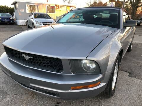 2007 Ford Mustang for sale at Atlantic Auto Sales in Garner NC
