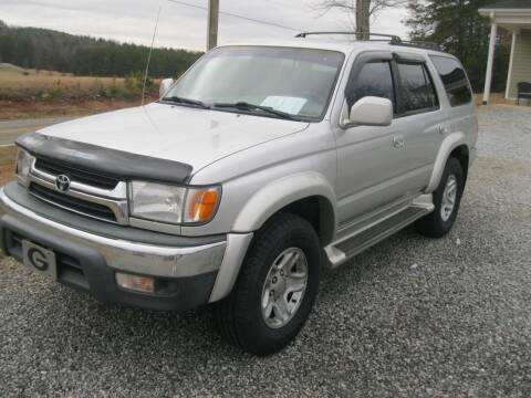 2001 Toyota 4Runner for sale at Judy's Cars in Lenoir NC