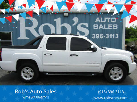 2008 Chevrolet Avalanche for sale at Rob's Auto Sales - Robs Auto Sales in Skiatook OK