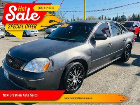 2005 Ford Five Hundred for sale at New Creation Auto Sales in Everett WA