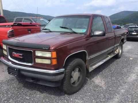 1998 GMC Sierra 1500 for sale at Troys Auto Sales in Dornsife PA