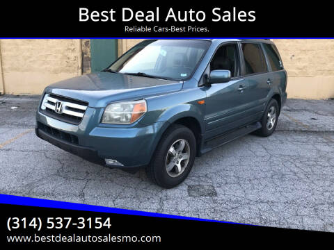 2007 Honda Pilot for sale at Best Deal Auto Sales in Saint Charles MO