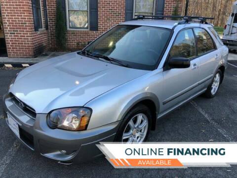 2005 Subaru Impreza for sale at White Top Auto in Warrenton VA