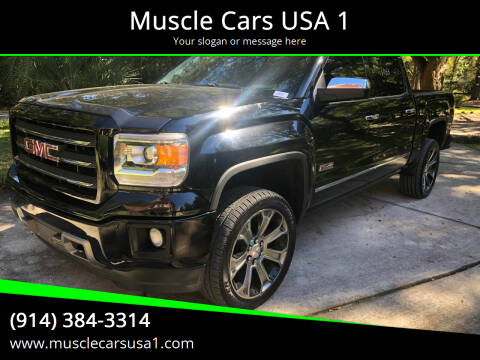2014 GMC Sierra 1500 for sale at Muscle Cars USA 1 in Murrells Inlet SC