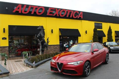 2018 Alfa Romeo Giulia for sale at Auto Exotica in Red Bank NJ