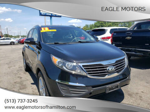 2013 Kia Sportage for sale at Eagle Motors in Hamilton OH