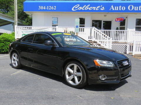 2009 Audi A5 for sale at Colbert's Auto Outlet in Hickory NC