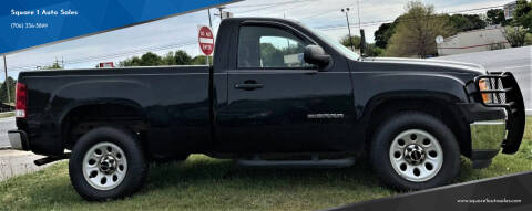 2012 GMC Sierra 1500 for sale at Square 1 Auto Sales - Commerce in Commerce GA