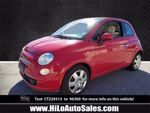 2012 FIAT 500c for sale at Hi-Lo Auto Sales in Frederick MD