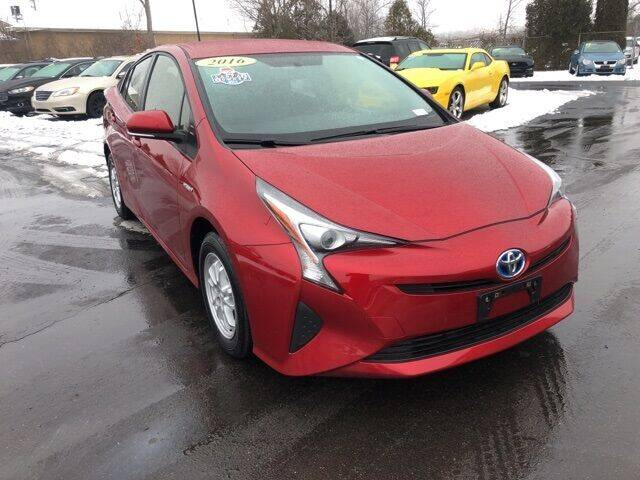 2016 Toyota Prius for sale at Newcombs Auto Sales in Auburn Hills MI