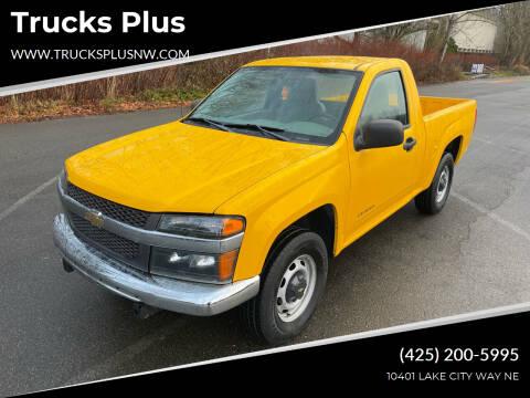 2005 Chevrolet Colorado for sale at Trucks Plus in Seattle WA