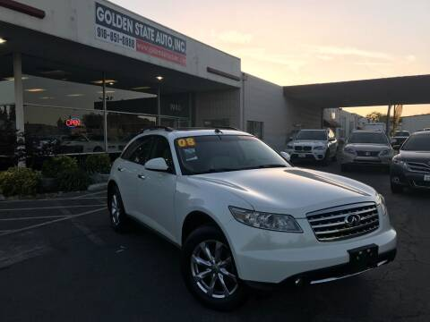 2008 Infiniti FX35 for sale at Golden State Auto Inc. in Rancho Cordova CA