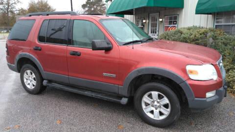 2006 Ford Explorer for sale at Haigler Motors Inc in Tyler TX